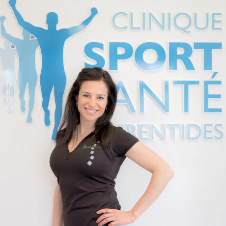 Dre Andréanne Ethier Chiasson, chiropraticienne