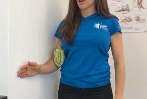 Exercices isométrique de l'épaule